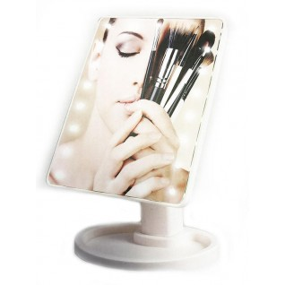 Make-Up Spejl med Touch Screen og LED-lys