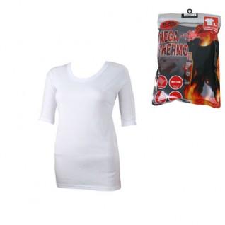 Hvid Thermo T-shirt Undertrøje til Kvinder